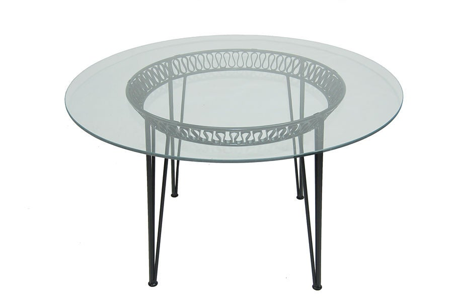 Patio Set By Salterini At 1stdibs