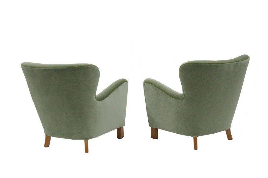Easy Chairs Att A J Iversen At 1stdibs