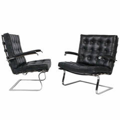 Pair of Tugendhat Armchairs by Mies van der Rohe