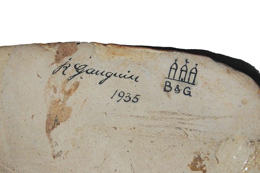 Danish Jean Rene Gauguin Sculpture for B & G For Sale