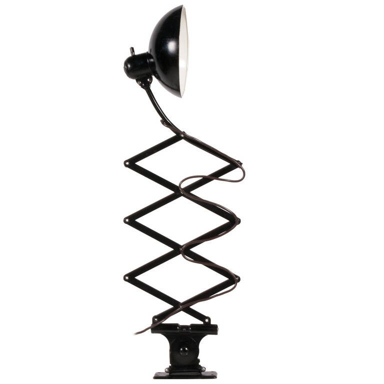 Wall Lamps Extendable : Extendable Wall Lamp by Christian Dell For Sale at 1stdibs