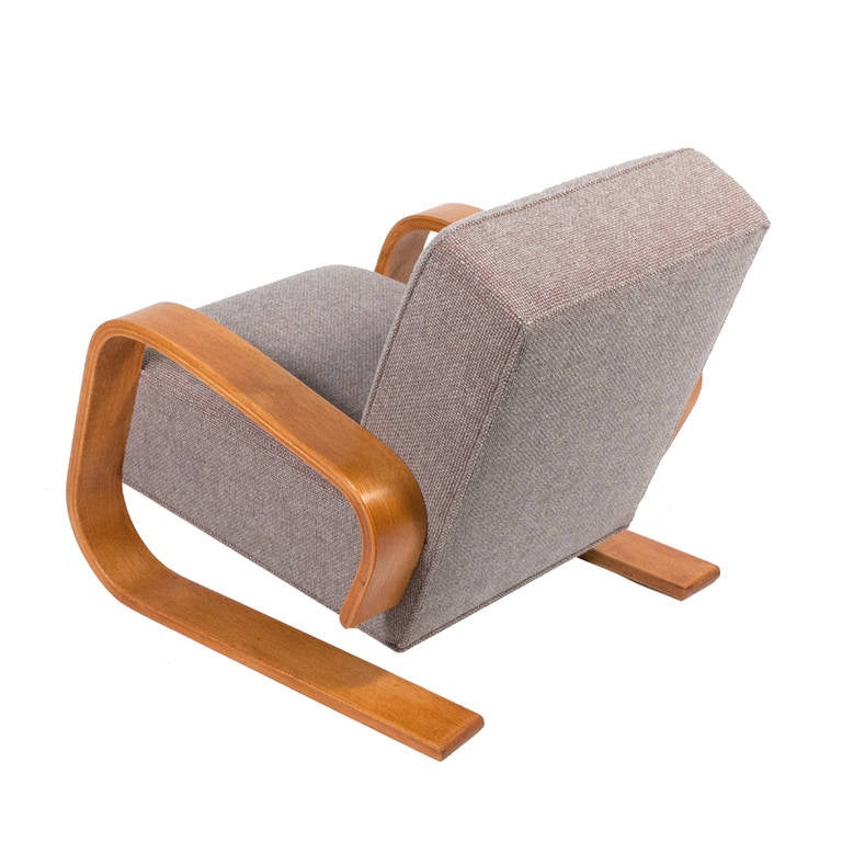 Early Tank Chair By Alvar Aalto At 1stdibs