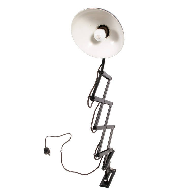 Wall Lamps Extendable : Extendable Wall Lamp by Christian Dell at 1stdibs