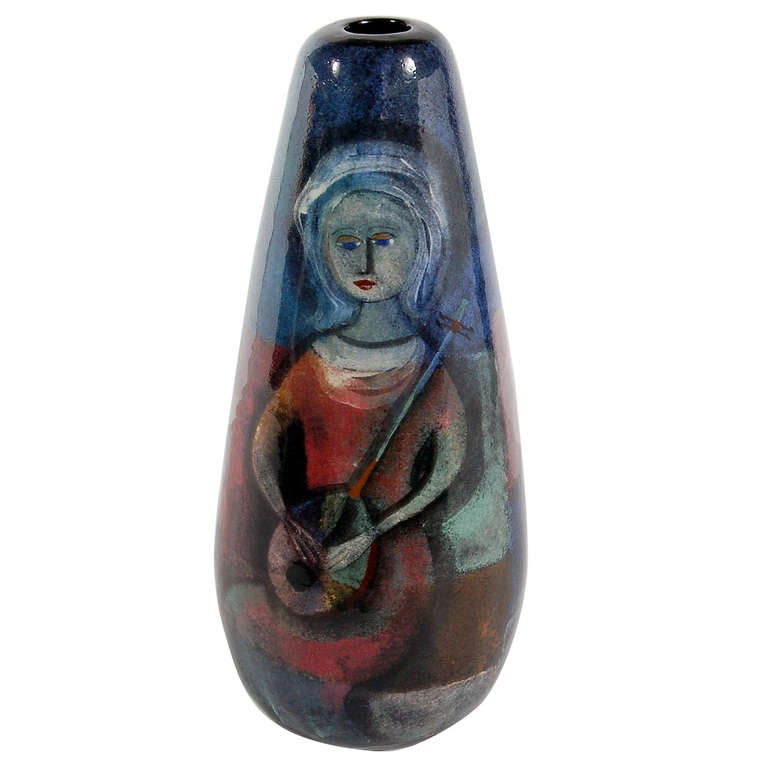 Vase by Polia Pillin For Sale