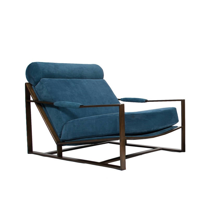 low lounge and ottoman by milo baughman at 1stdibs