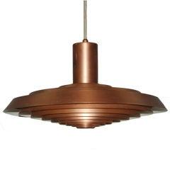 """Poul Henningsen """"Plate"""" Ceiling Lamp"""