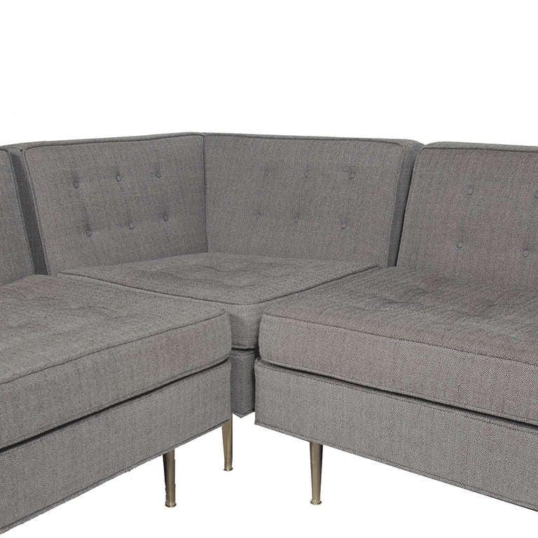 Featherby Corner Sofa Harveys: L-Shaped Sofa By Harvey Probber At 1stdibs