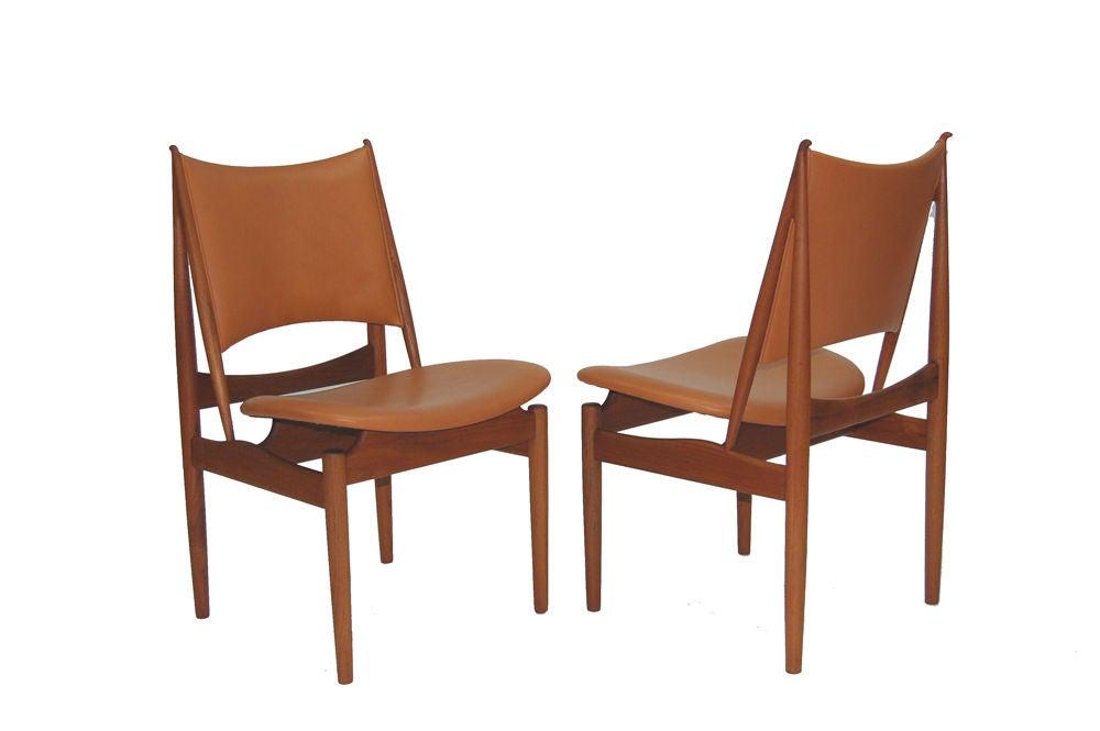 Finn Juhl Egyptian Chairs At 1stdibs