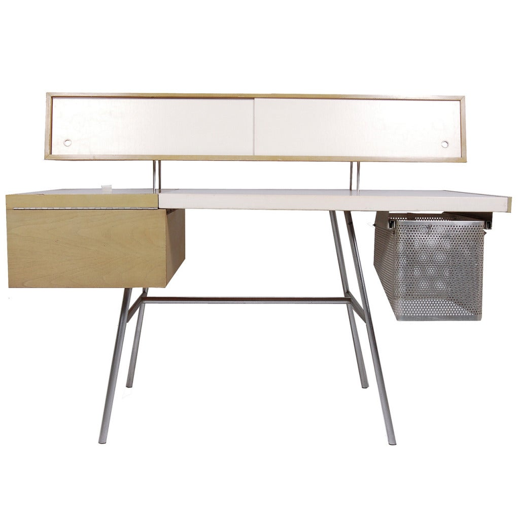 Custom home office desk by george nelson at 1stdibs - Custom office desk ...