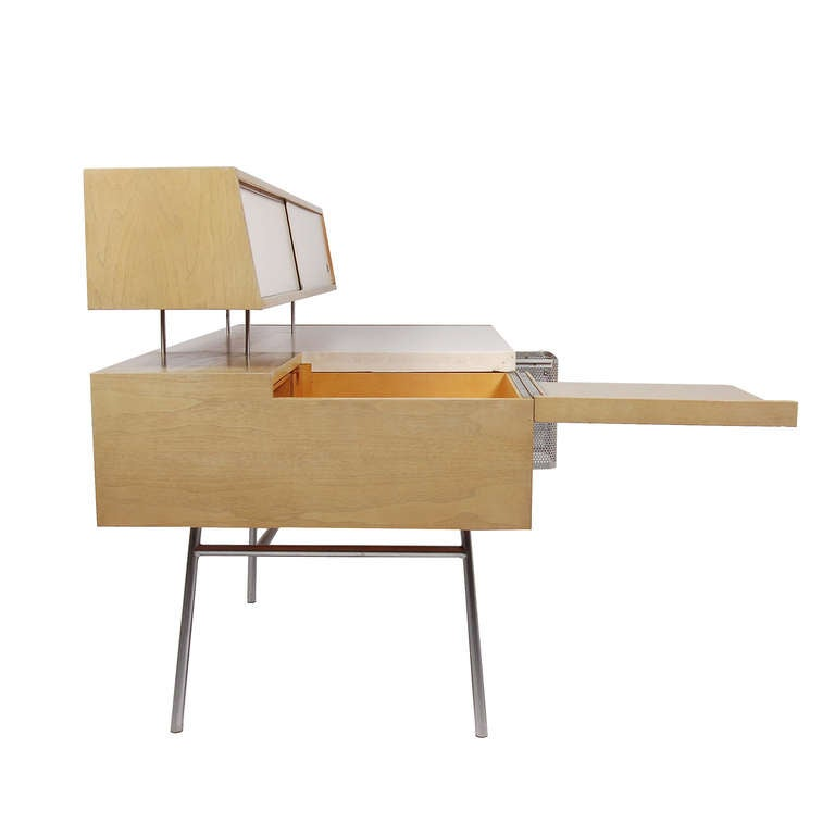 Custom Home Office Desk By George Nelson At 1stdibs