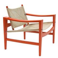 "Very Rare Easy Chair ""Bukkestole"" by Hans Wegner"
