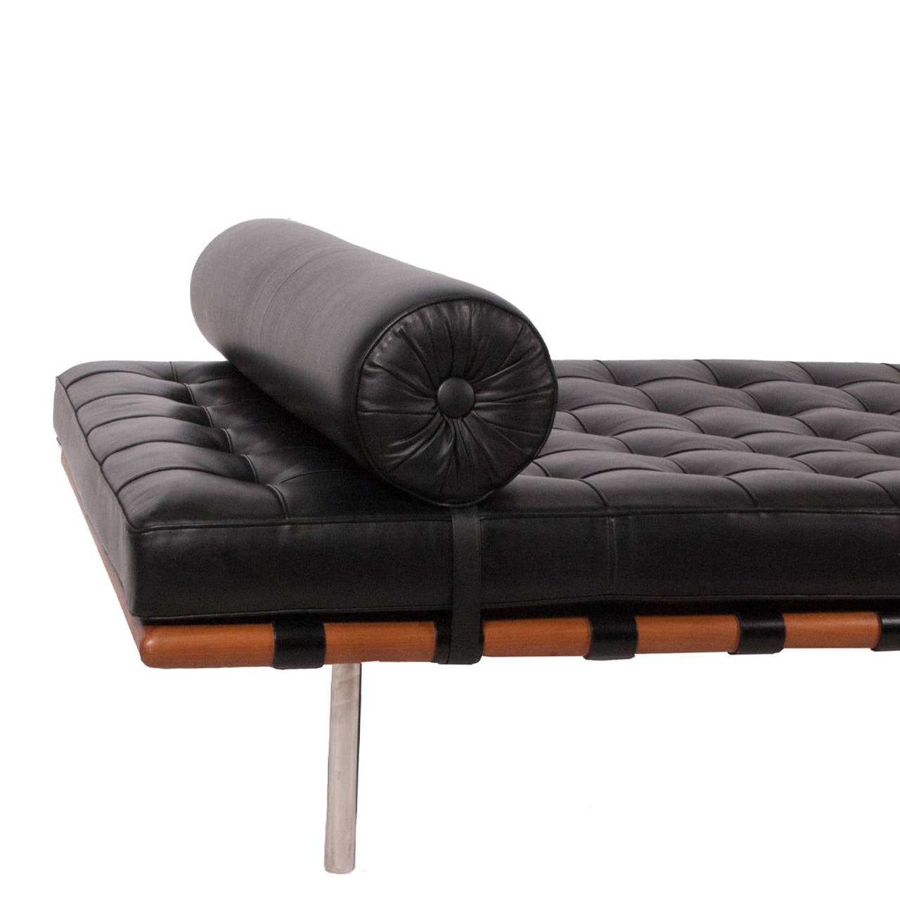 1980s barcelona daybed by mies van der rohe at 1stdibs. Black Bedroom Furniture Sets. Home Design Ideas