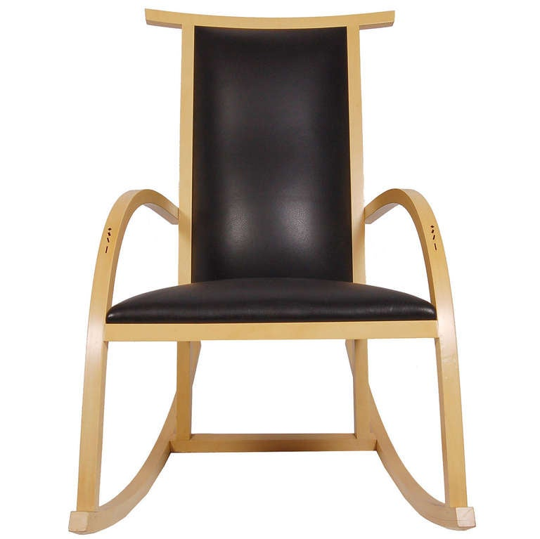 Rocker Chair by Carlos Riart for Knoll 1