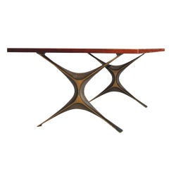George Nelson Rare Bronze Group Coffee Table
