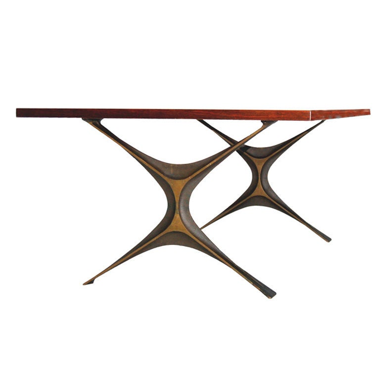 George Nelson Rare Bronze Group Coffee Table At 1stdibs