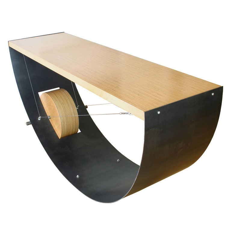 Plywood Console Table ~ Spring table plywood by russell buchanan at stdibs