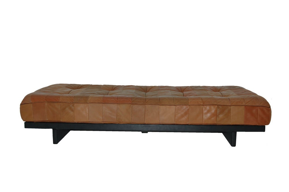 Patchwork leather daybed bench by de sede at 1stdibs Daybed bench