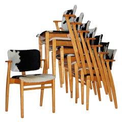 Early Domus Chairs by Ilmari Tapiovaara