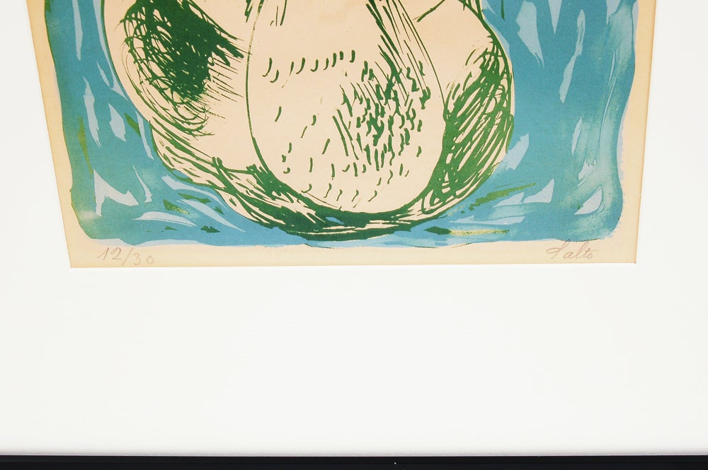 Selection of Axel Salto Lithographs In Good Condition For Sale In Dallas, TX