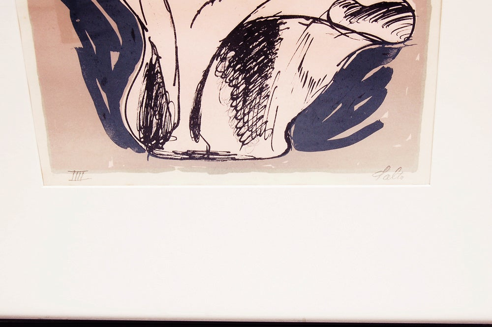 Selection of Axel Salto Lithographs For Sale 5
