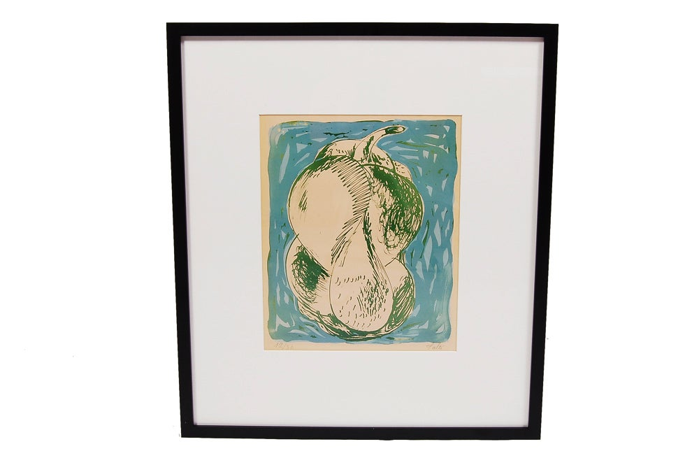 Danish Selection of Axel Salto Lithographs For Sale