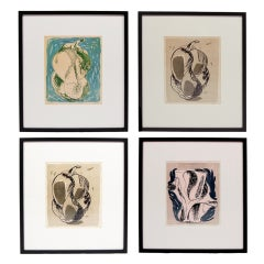 Selection of Axel Salto Lithographs