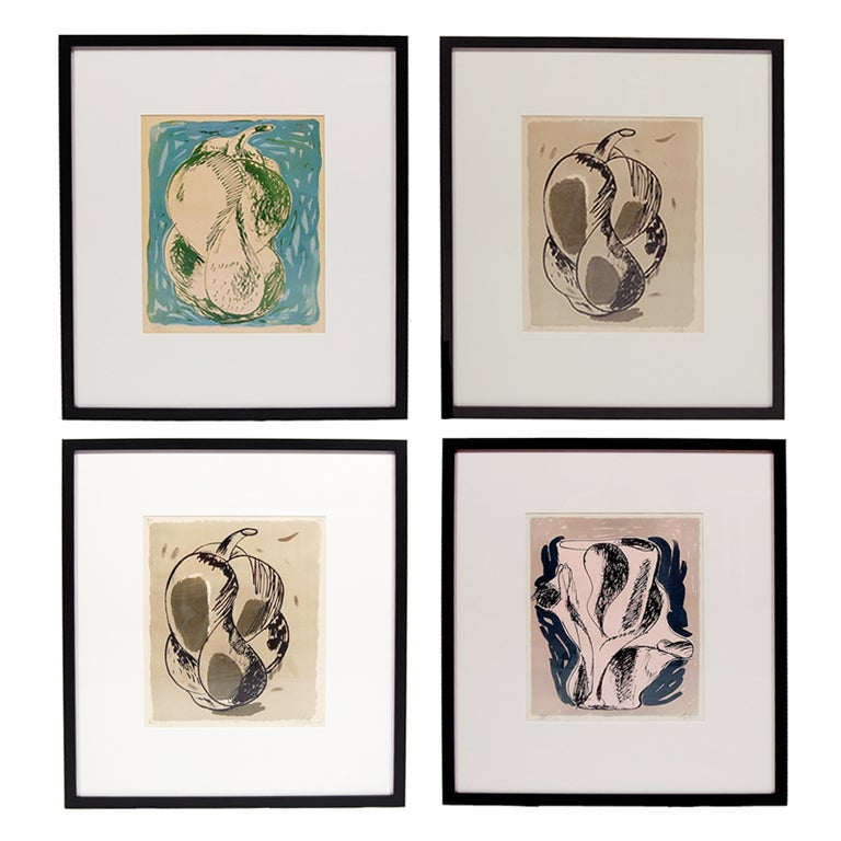 Selection of Axel Salto Lithographs For Sale