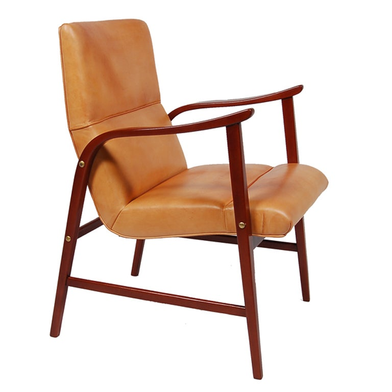 Armchair By Axel Larsson At 1stdibs