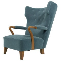 Large Easy Chair by Bertil Soderberg
