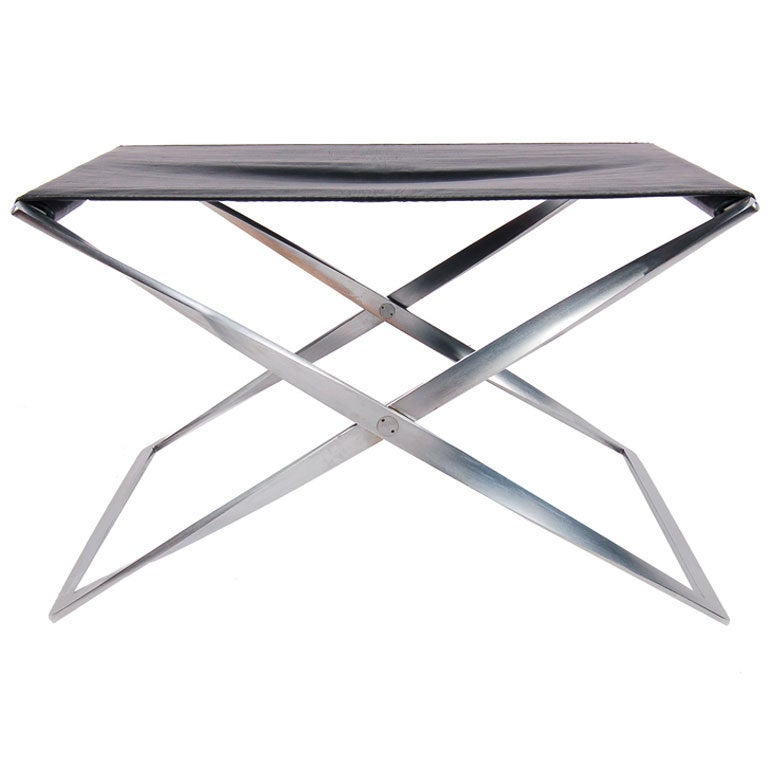 PK91 Folding Stool by Poul Kjaerholm at 1stdibs