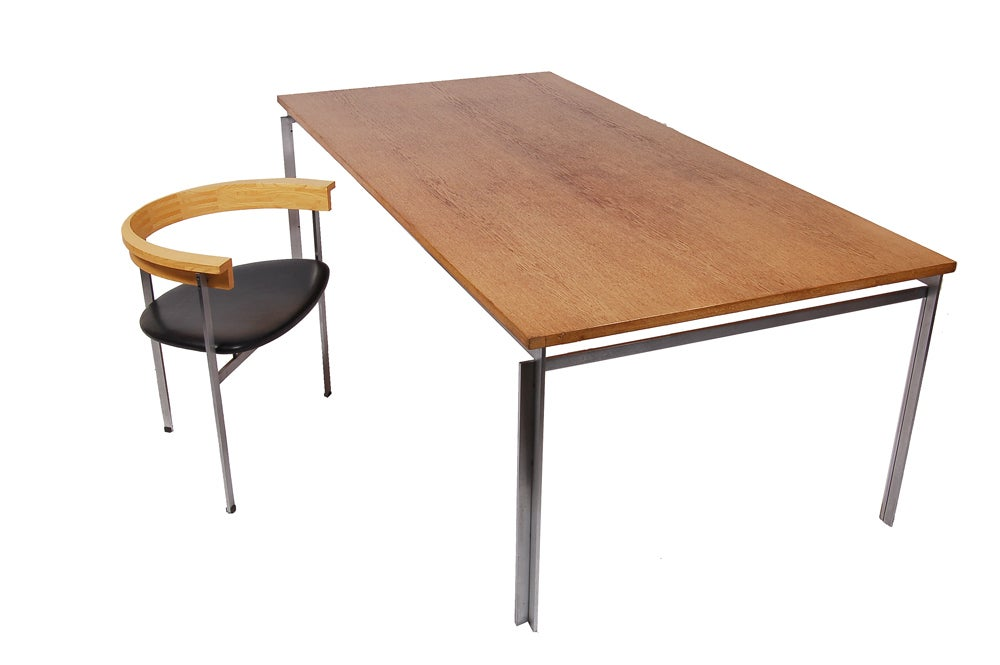 Danish PK55 Table or Desk by Poul Kjaerholm For Sale