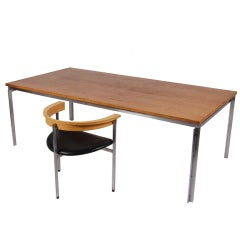 PK55 Table or Desk by Poul Kjaerholm