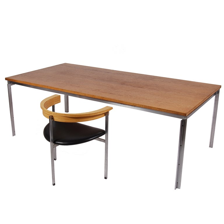 PK55 Table or Desk by Poul Kjaerholm For Sale