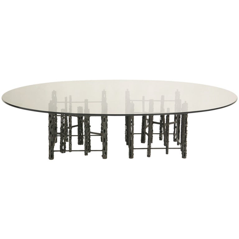 Brutalist Coffee Table For Sale