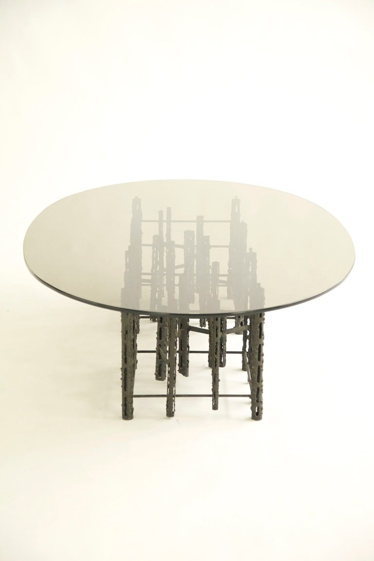 American Brutalist Coffee Table For Sale