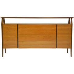 Bertha Schaefer Cabinet in Italian Walnut