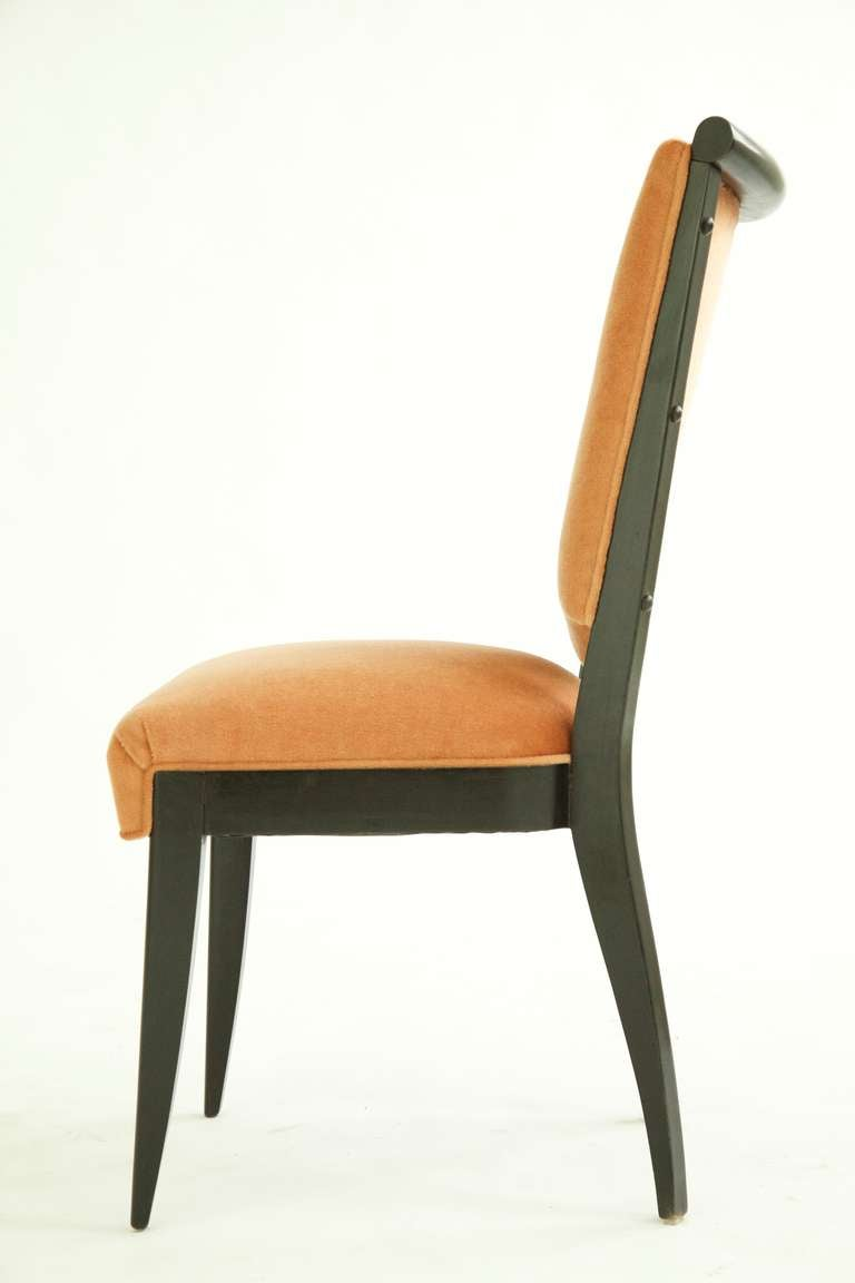 Art Deco Dining Chairs Set Of Six At 1stdibs