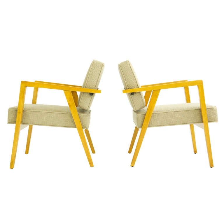 Pair of Franco Albini Lounges