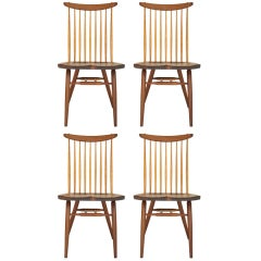 Set of 4 Nakashima Chairs