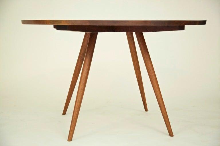 Nakashima Table Impressive With George Nakashima Round Table at 1stdibs Photo