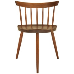 "George Nakashima Set of ""Mira"" Chairs"