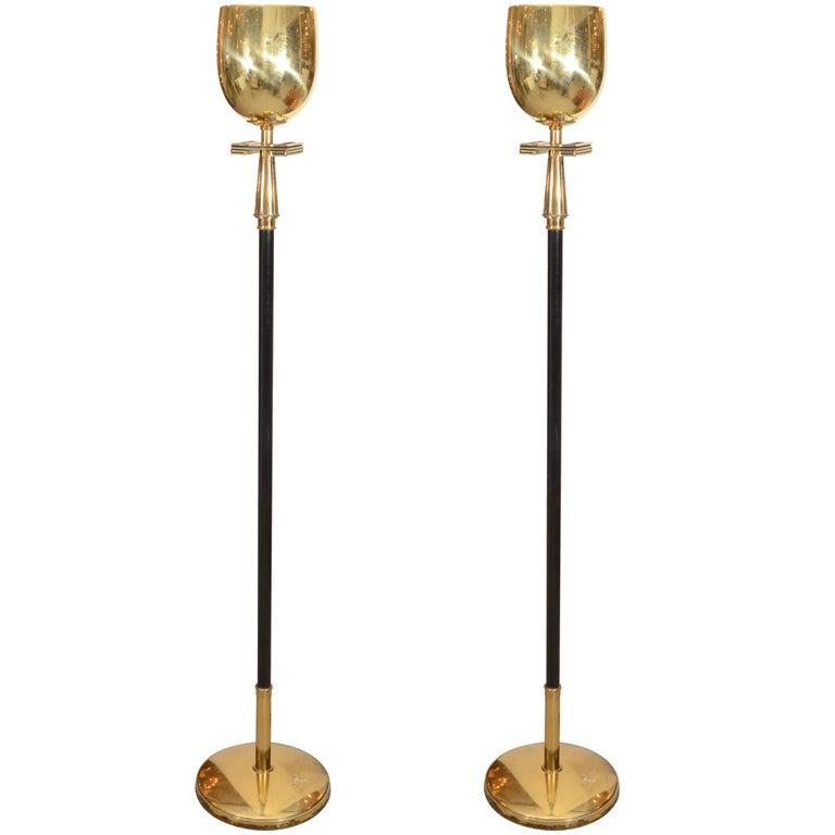 Pair of stiffel floor lamps at 1stdibs pair of stiffel floor lamps 1 audiocablefo light ideas