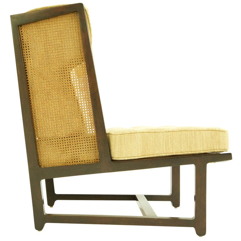 Edward Wormley High Back Lounge Chair At 1stdibs