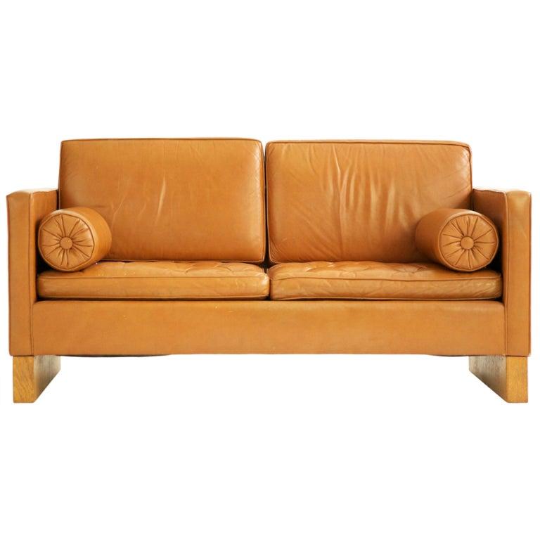 Mies van der rohe settee at 1stdibs - Sofa van de hoek uitstekende ...