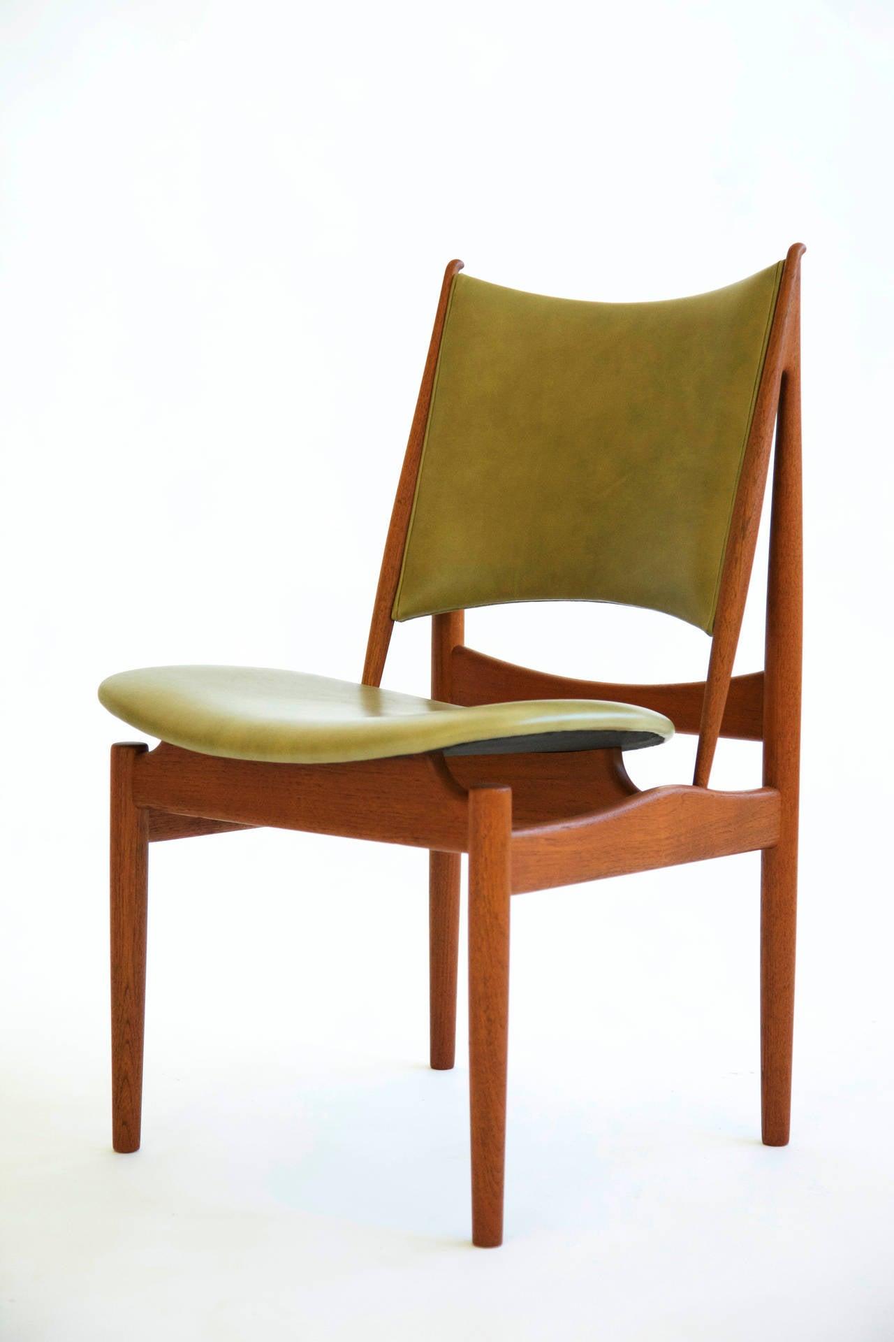 Set of eight finn juhl egyptian chairs at stdibs
