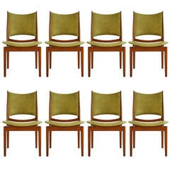 Set of Eight Finn Juhl Egyptian Chairs