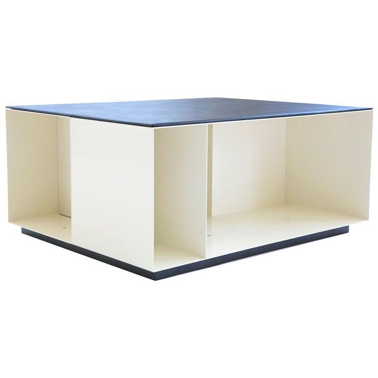Poliform Storage Cube Coffee Table