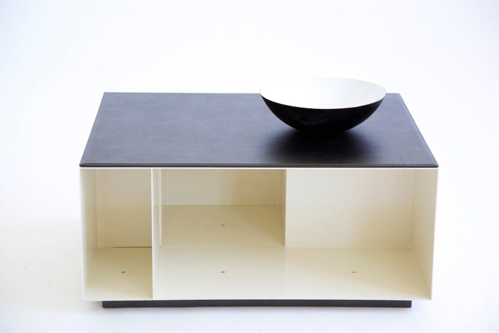 Poliform Storage Cube Coffee Table At 1stdibs