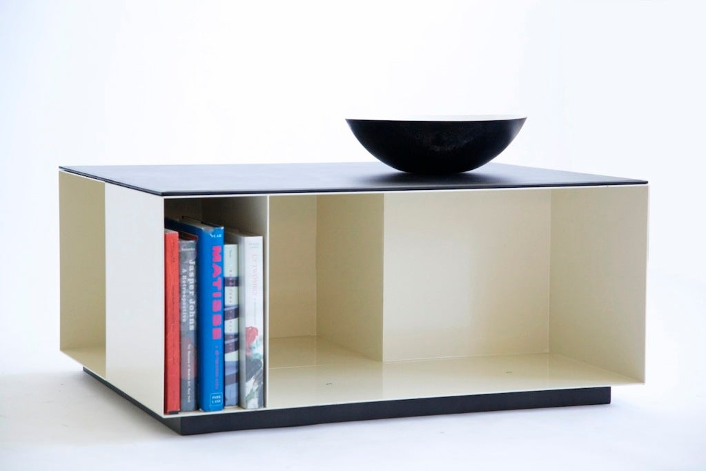 Poliform Storage Cube Coffee Table At 1stdibs