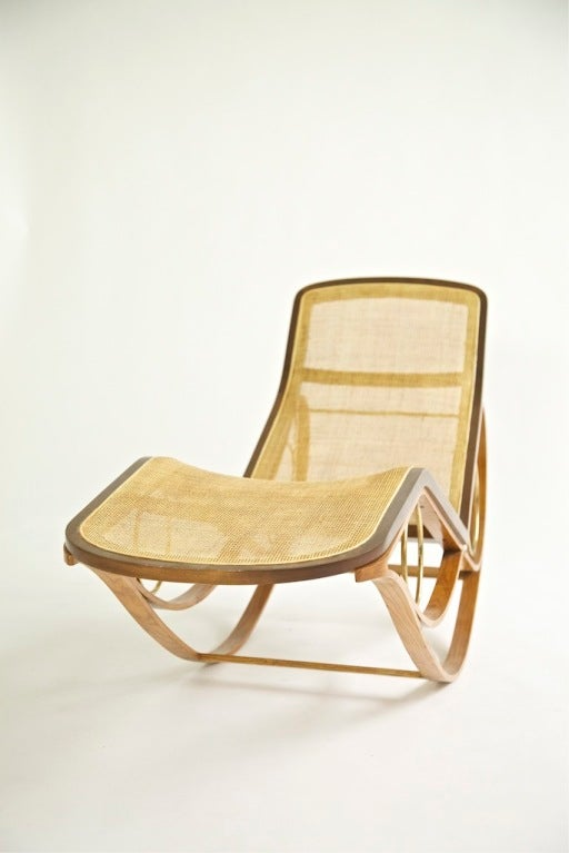 This Edward Wormley Prototype Rocking Chaise is no longer available.